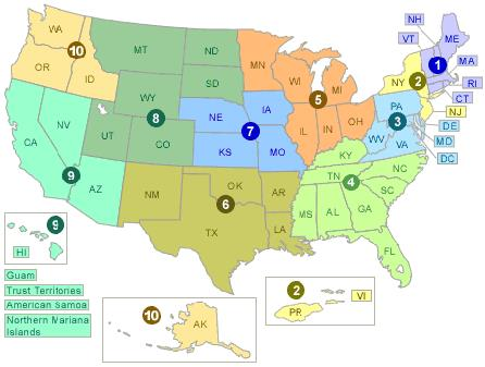 EPA Resources - EPA Regions